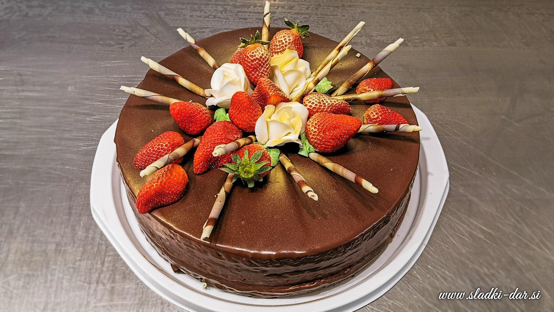 Enostavna torta za rojstni dan