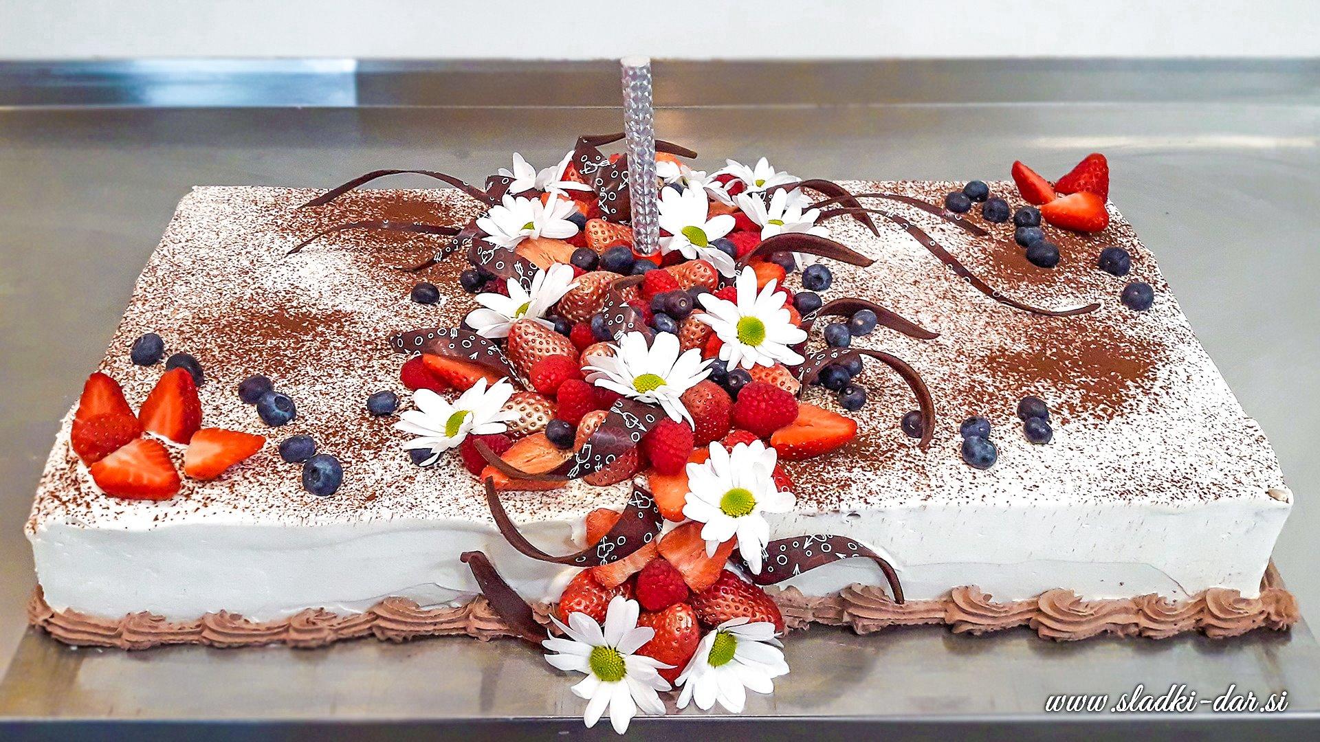 LCHF torta za rojstni dan